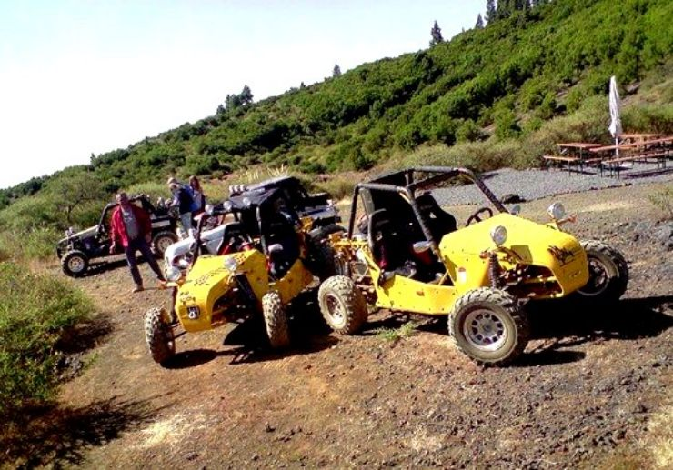 Explore La Palma landscape on a buggy
