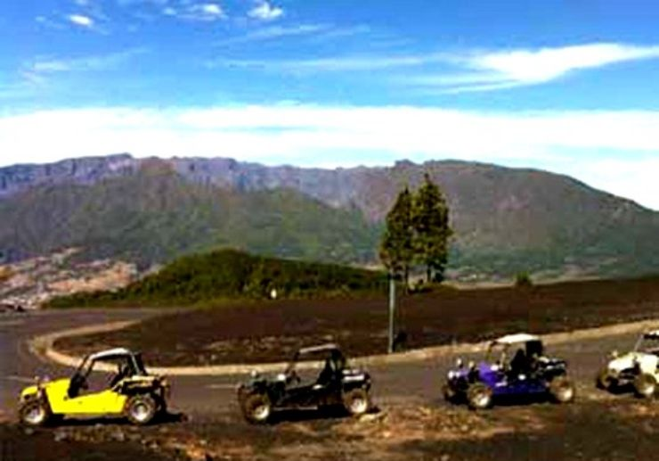 La Palma volcanoes route buggy excursion