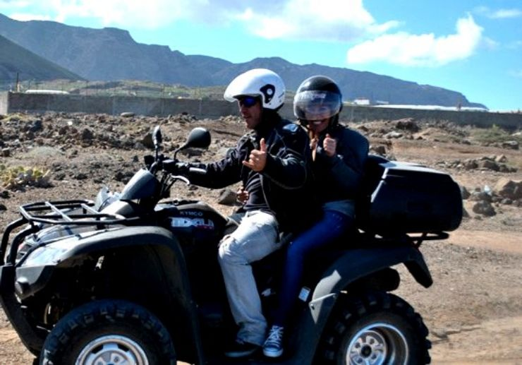 Quad adventure to volcanoes of Tenerife