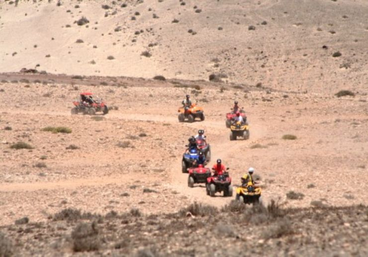 Buggy and quad expedition tour Fuerteventura