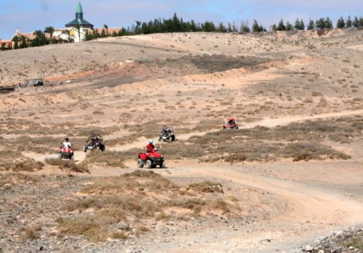 Quad and buggy Costa Calma expedition tour