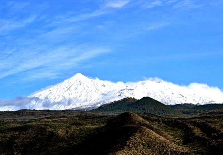 See Mt Teide in winter Tenerife helicopter tour