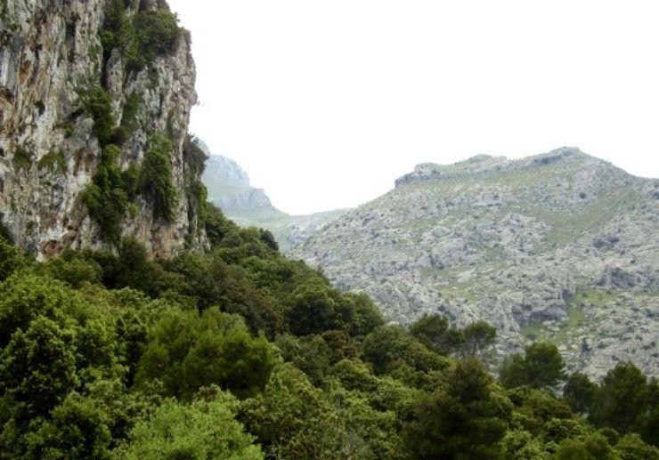 Impressive landscape of Sierra Tramuntana