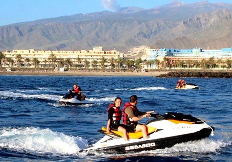 Jetski and quad combo tour Tenerife