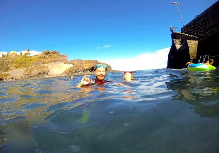 Tenerife scuba diving taste course