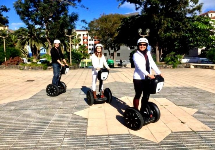 Segway practice session before tour