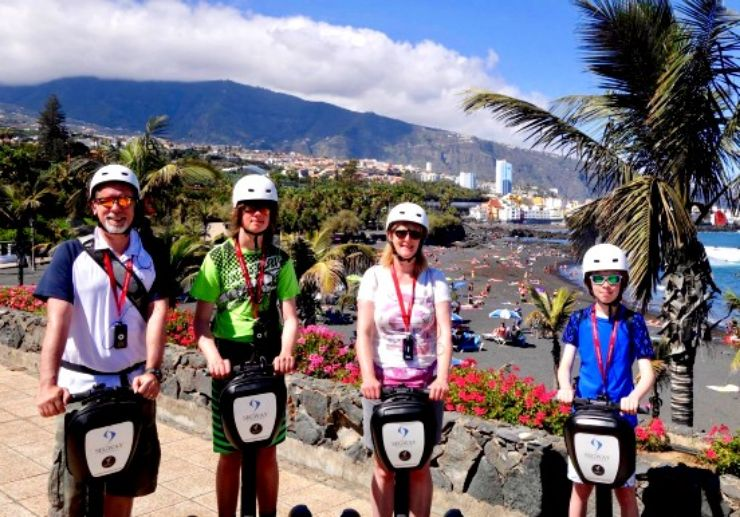 Segway tour for family Puerto de la Cruz