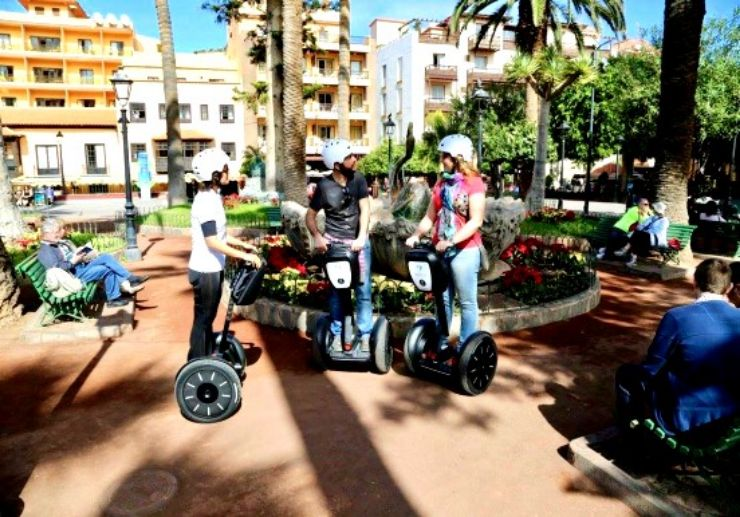 Puerto de la Cruz guided segway tour