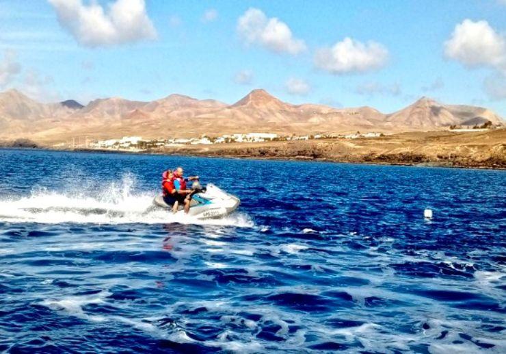Lanzarote jetski safari discovery tour