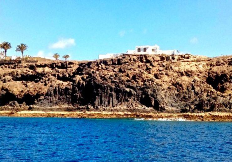 Lanzarote rugged coastline jet ski tour