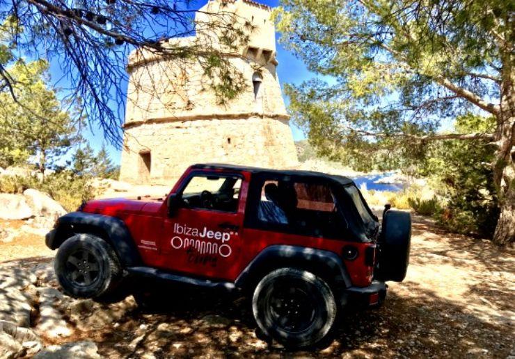 Half day Jeep tour in Ibiza