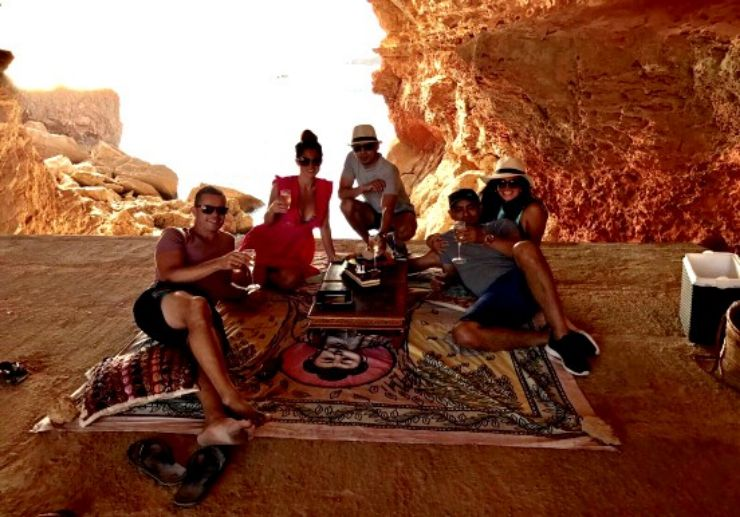 jeep tour taking you to secret locations of Ibiza