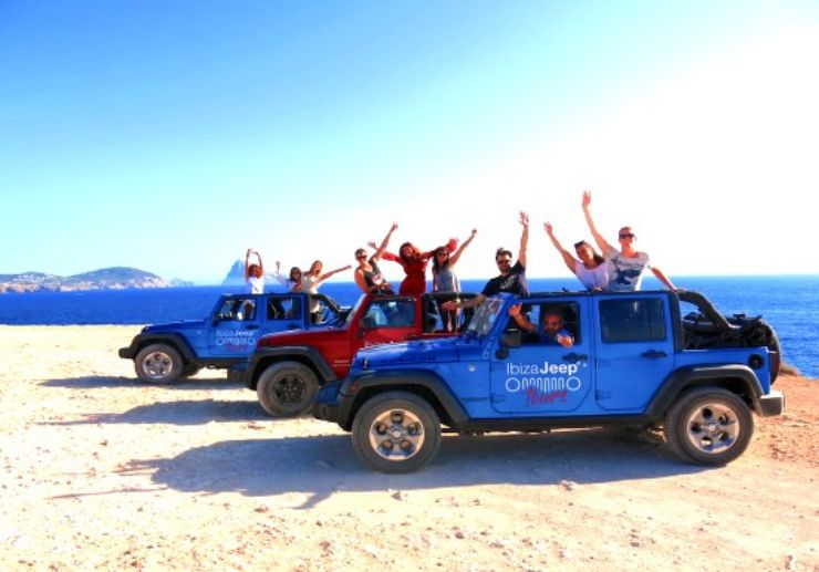 Ibiza private jeep tour with paella and stand up paddle