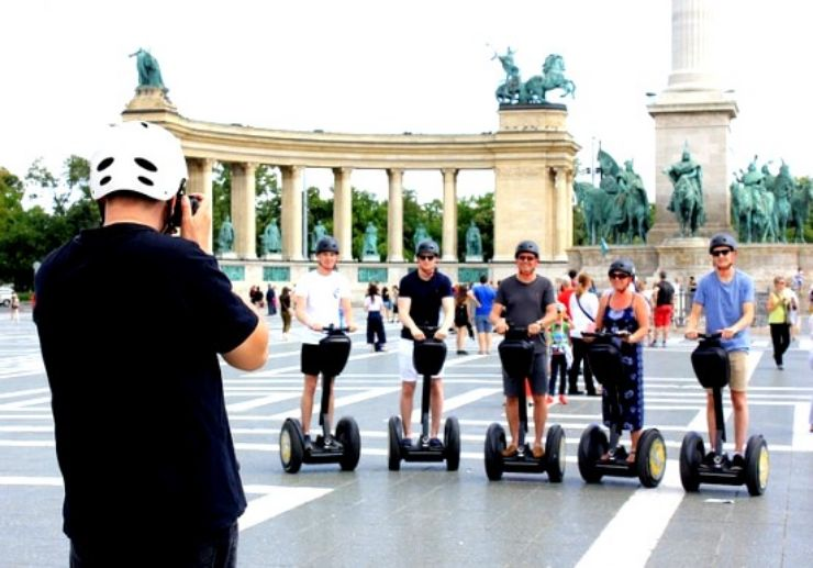 Budapest guided segway tour