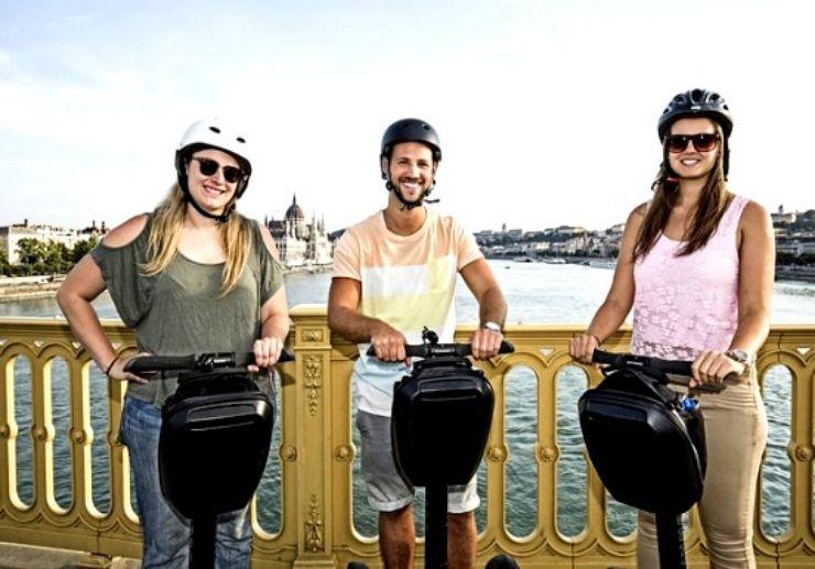 Segway tour Budapest Grand City