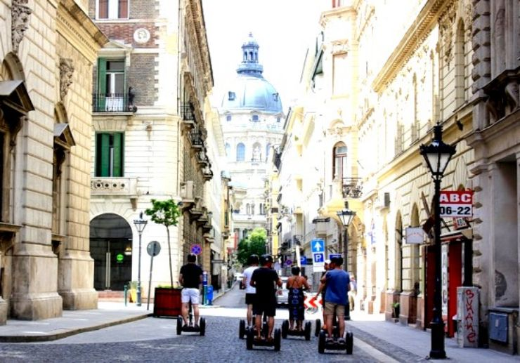 Segway sightseeing tour in Budapest