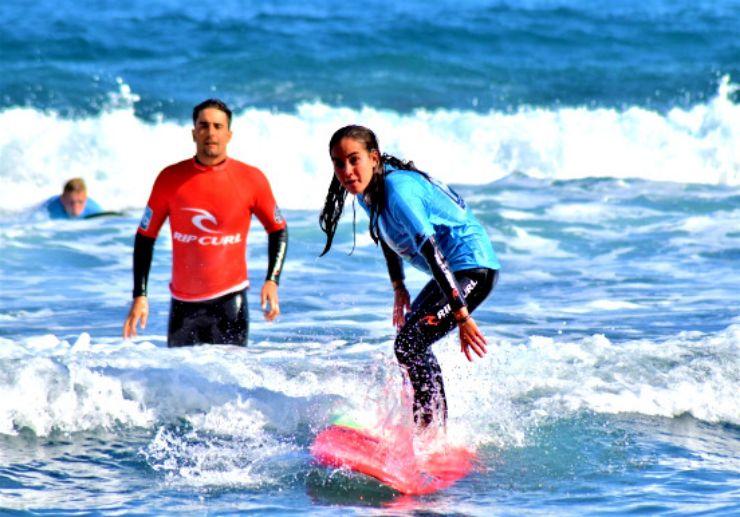 Learn surfing Puerto de la Cruz