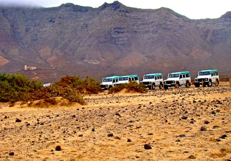 Jeep safari tour in Cofete Fuerteventura