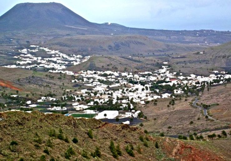 Valley of the thousand palms Lanzarote