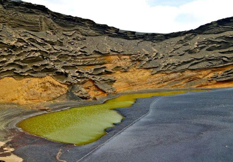 Green lake of El Golfo Lanzarote