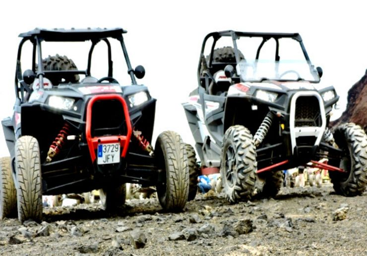Powerful buggy tour in Lanzarote