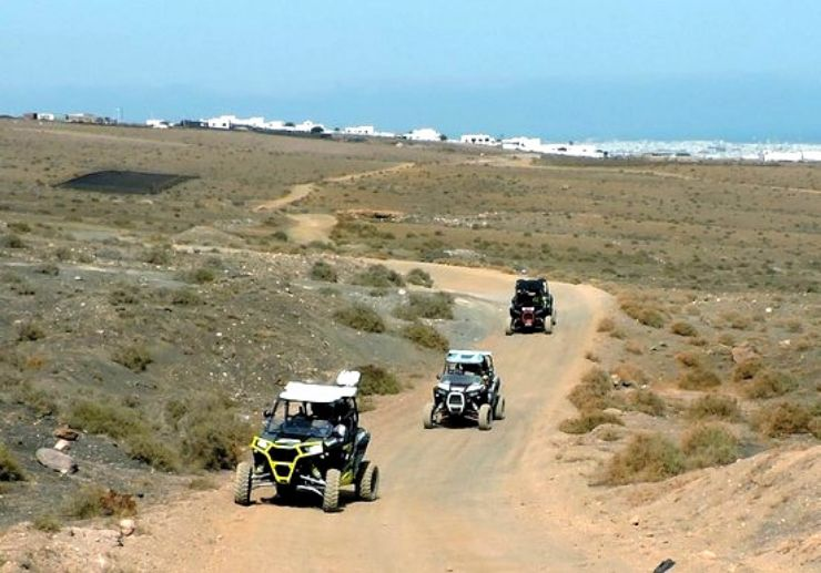 Lazarote adventure super buggy tour