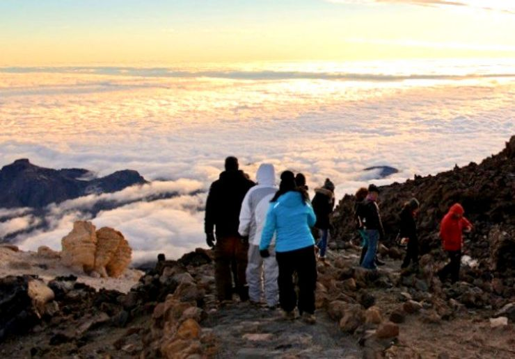 Teide hiking cable car ride and sunset