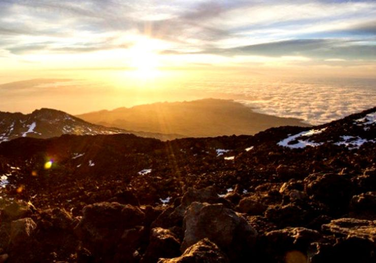 Teide hiking tour with sunset