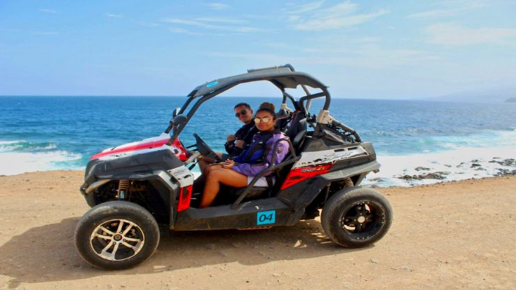 Buggy adventure along the coast of Tenerife