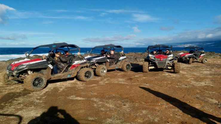 Off road ride near Masca and the beach