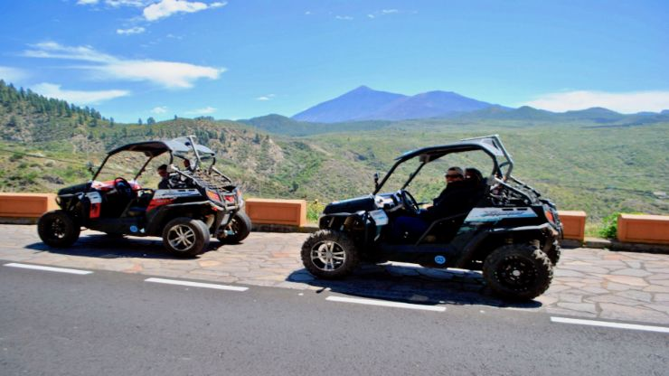 Ride buggy to discover Teide National Park