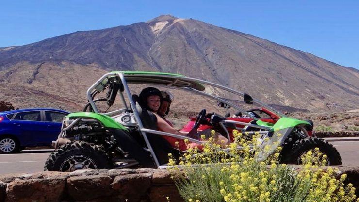 buggy tour to Teide Tenerife