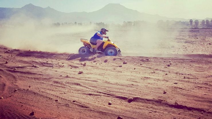 Get dusty on our quad tour in Tenerife